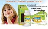 Una muestra gratis Vitamina Ad Cápsula Blanda 300 mg certificada por la FDA/GMP (somos el OEM fábrica).