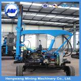 Hydraulischer Stahlsolarpfosten, der Maschine für Stapel-Anhäufung fährt