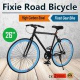 "vélo fixe de forme physique de Rennrad de vitesse de vitesse de 26 "" Zoll de vélo simple de Fixie Fahrrad"