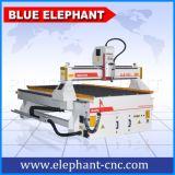 Ranurador de alta velocidad 1325, ranurador de madera del CNC de la máquina del CNC con el eje de rotación de la refrigeración por aire de Hsd