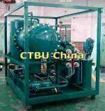 Máquina móvil del purificador de petróleo de la turbina