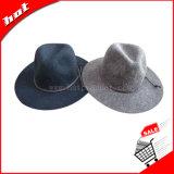 Chapéu do fio de algodão do chapéu do inverno do chapéu do Fedora