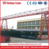 工学構築のためのWeihuaのトラスタイプ移動式二重ガードのガントリークレーン
