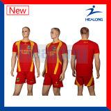 Healongの国際的なスポーツ・ウェアギヤ昇華子供のフットボールのユニフォーム