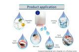 воздух генератора озона дистанционного управления 400mg/H и очиститель воды для овощей и плодоовощ