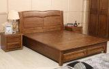 Festes hölzernes Bett-moderne doppelte Betten (M-X2263)