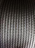 Corda galvanizzata personalizzata 6X37 del filo di acciaio per trazione