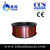 De cobre recubierto alambre de soldadura ER70S-6