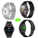 Het Slimme Horloge van Bluetooth van Android&Ios met de Monitor van het Tarief van het Hart N3