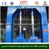 Xql-80 máquina de corte de borracha hidráulica / equipamento de corte de pneu