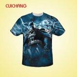 Buena calidad / camiseta de encargo, impresión completa de la sublimación Camiseta del Crewneck, camiseta de la impresión de la Transferencia de calor