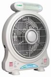 ventilatore ricaricabile della batteria Emergency di 10 '' AC&DC con la luce del LED