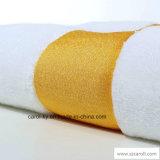Полотенце Терри тканья гостиницы с Dobby сплетенным цветом и логосом