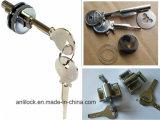 유리제 자물쇠, 금관 악기 자물쇠, 유리제 문 플러그 접속식 실린더 자물쇠, 자물쇠 알루미늄 C001