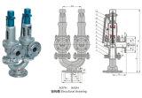 Tipo resorte doble válvula de seguridad (A37H43H , la presión La válvula de seguridad