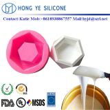 Caoutchouc de silicone RTV 2 pour le béton et ciment trilatérale Pot de fleur de moules