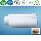 Papel de empaquetado de la hamburguesa con el PE cubierto