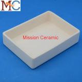 Crogiolo di allumina/allumina di ceramica cassetto di ceramica di ceramica allumina/di Saggar