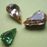 De Diamant van het kristal, de Diamant van de Kleding van het Kristal, naait op Diamant, Buitensporige Steen voor Kleding