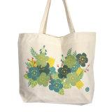 Kaliko-Einkaufstasche mit innerer Tasche