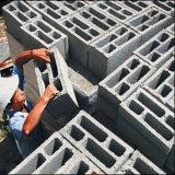 Bloque de cemento de hormigón y de la máquina de interbloqueo