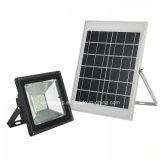 20W 30W 50W LED Solarflut-Licht mit beweglicher Fühler-und Beleuchtung-Fühler-Steuerung