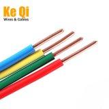 Avec une solide conducteur de cuivre isolés de PVC simple coeur de câble électrique
