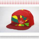 印刷5つのパネルの急な回復の帽子5のパネルの帽子