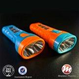 Poder superior energy-saving com a lanterna elétrica plástica do diodo emissor de luz do ABS