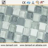台所壁のタイルのガラス大理石のモザイク