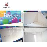 Estantería de cartón para exhibición de pisos Estanterías de exhibición para cuchillos de cartón de alta calidad