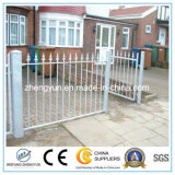 Outdoor Black Powder Coated Alumínio Fence / Iron Fence / Metal Fence