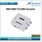 Mini HDMI vers convertisseur CVBS (AV)
