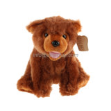 Jouets sauvages d'animal d'ours bourrés par peluche de Brown