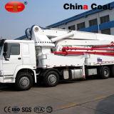 Bomba concreta de crescimento de construção de China 42m/45m que coloc o caminhão