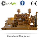 Generador de potencia de la biomasa con la gasificación y el conjunto de generador de madera de Syngas