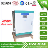 omschakelaar de In twee fasen van het Systeem van de Zonne-energie van het Huis van Drie Draad 6000W 48VDC-120/240VAC