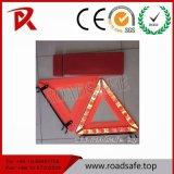 Produit de signature de la sécurité Roadsafe Triangle Triangle d'alerte par voyant clignotant