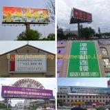 Tabellone per le affissioni installato esterno di Tri-Visione per la grande pubblicità di formato