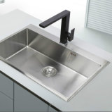 Faucet раковины кухни черноты шарнирного соединения законченный (WT1088WB-KF)