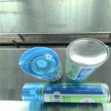 PLC de control automático lleno de aerosol botella del aerosol de la máquina de envasado retráctil