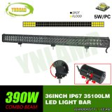 390W 36inch 두 배 줄 12V LED Offroad 표시등 막대