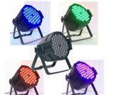 54*3W 3 em1 Luz PAR RGB para a danceteria Partido Lâmpada Estágio