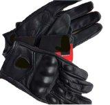 手袋のオートバイの手袋を競争させる皮手袋