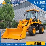 Carregador pequeno da roda do trator da maquinaria de construção da fábrica chinesa para a venda
