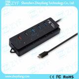 USB 3.0 de Snelle Hub van het Type C van Snelheid USB (ZYF4013)