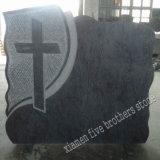 Bahamas de granito azul monumento de estilo europeo, la lápida de granito
