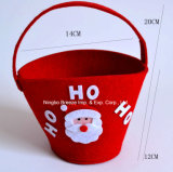 크리스마스 장식적인 펠트 사탕 선물 핸드백
