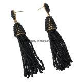 Gli orecchini di goccia Chain della nappa dei branelli del legha d'oro ciondolano il pendente per i monili di modo delle donne di fascino