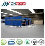 Excelente piso de borracha de redução de ruído para Exbition Center, Sala de aula, Superfície de escritório